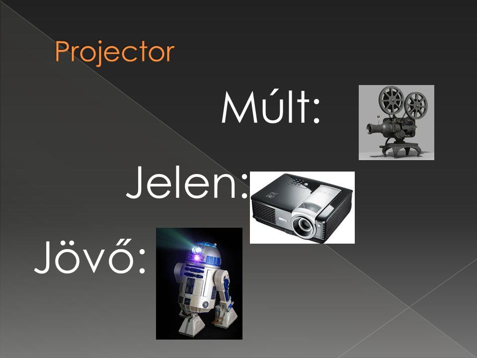 Projector Múlt: Jelen: Jövő: