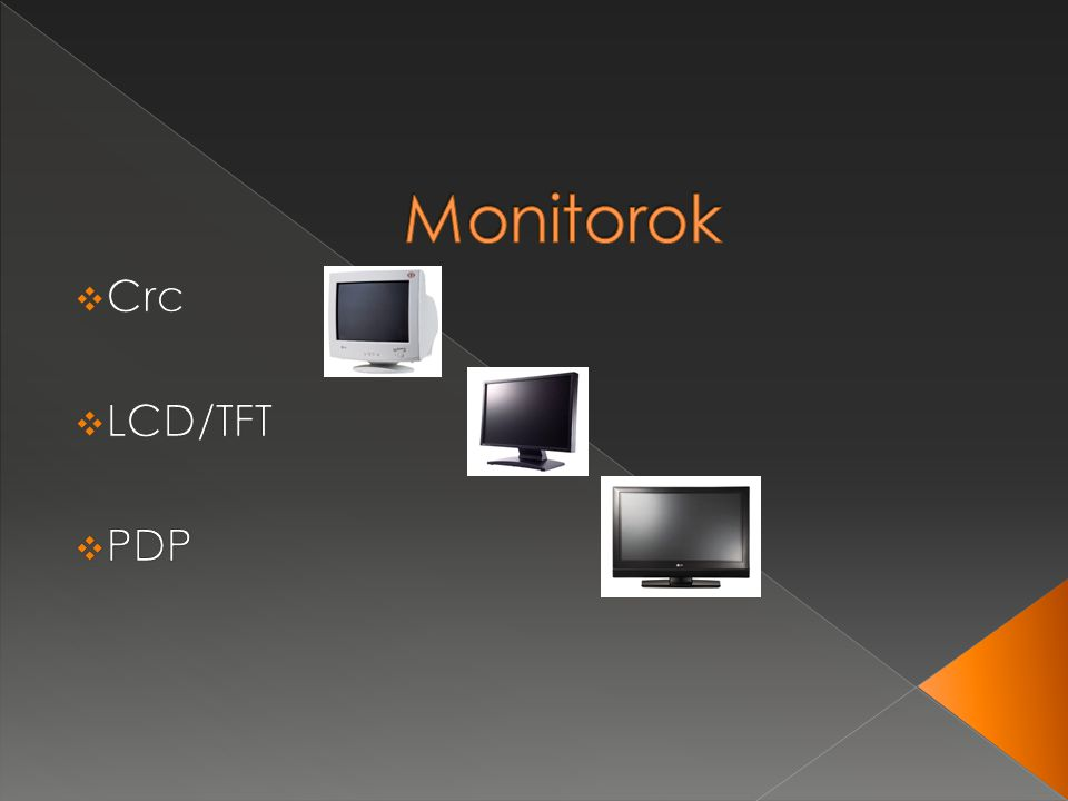 Monitorok Crc LCD/TFT PDP