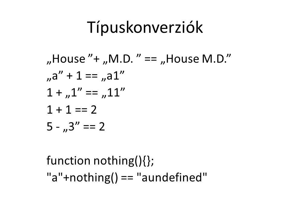 Típuskonverziók
