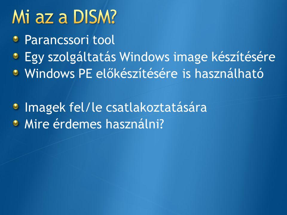 Mi az a DISM Parancssori tool