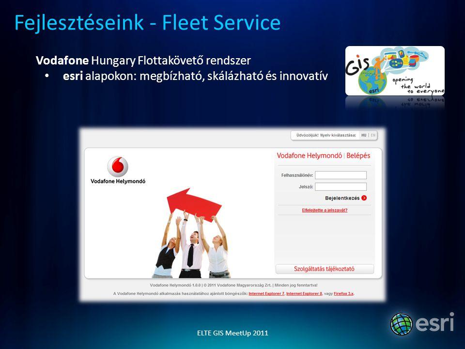 Fejlesztéseink - Fleet Service