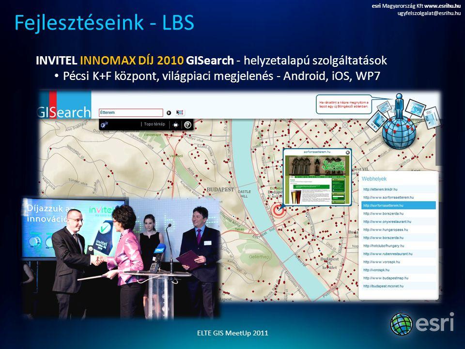 esri Magyarország Kft www.esrihu.hu