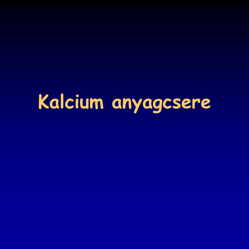 Kalcium anyagcsere