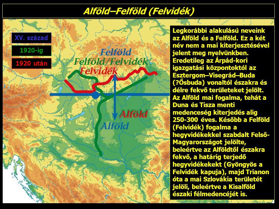 Alföld–Felföld (Felvidék)