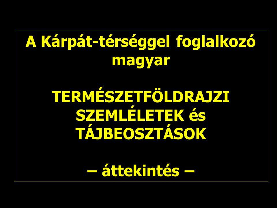 A Kárpát-térséggel foglalkozó magyar