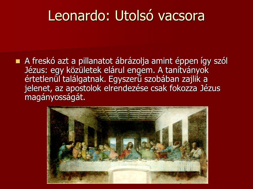 Leonardo: Utolsó vacsora