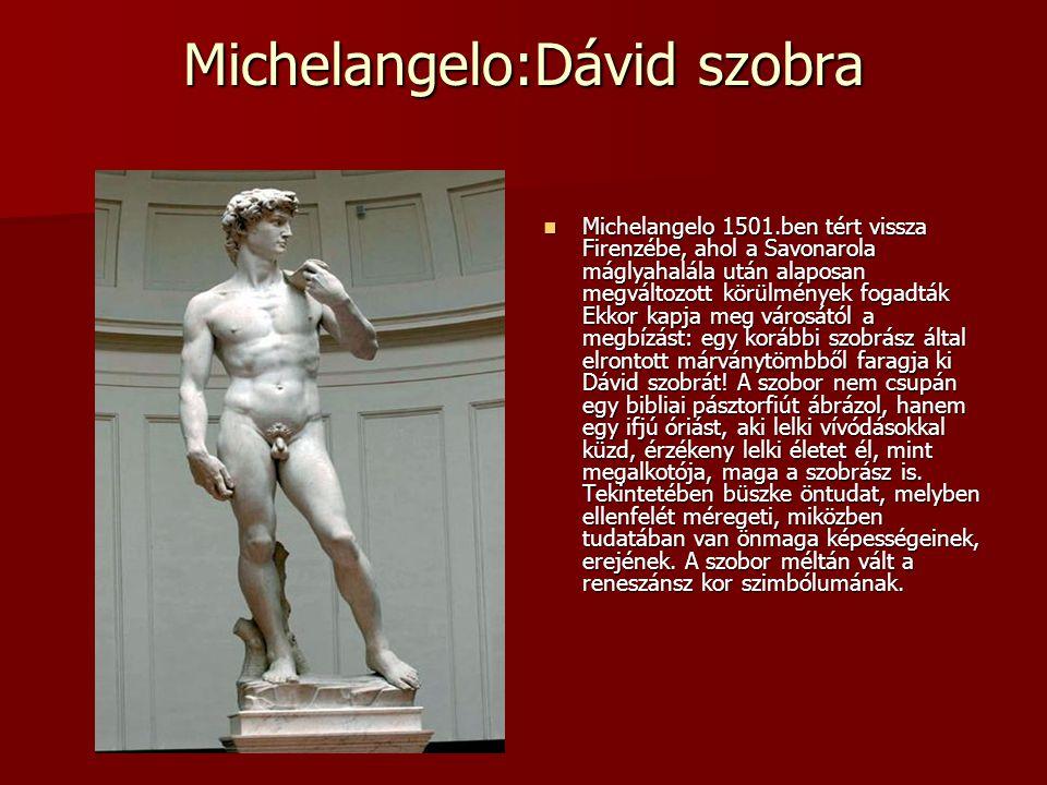 Michelangelo:Dávid szobra