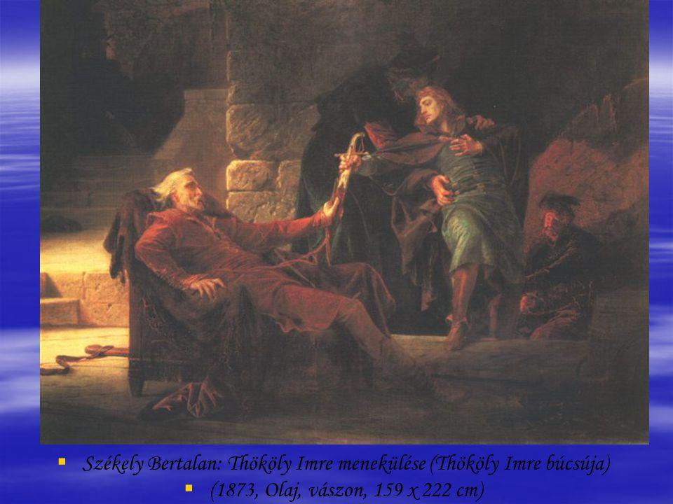 Székely Bertalan: Thököly Imre menekülése (Thököly Imre búcsúja)