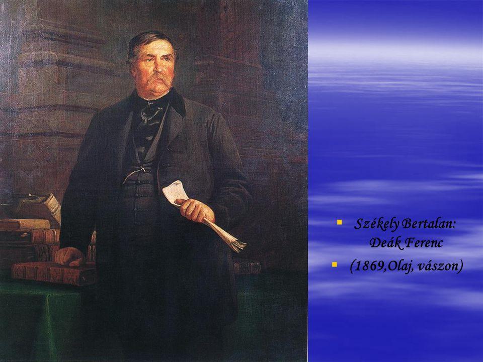 Székely Bertalan: Deák Ferenc