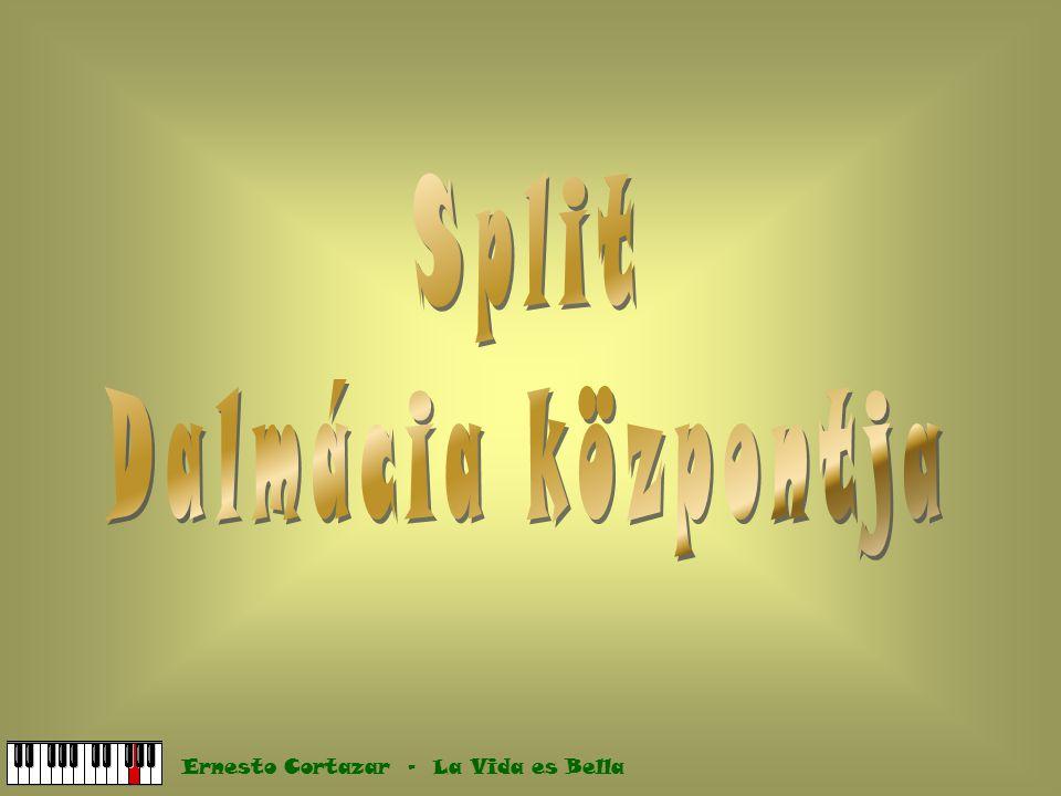 Split Dalmácia központja