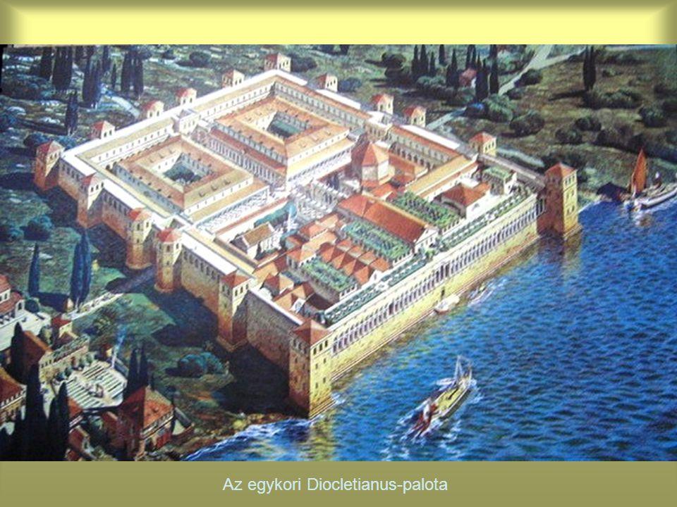 Az egykori Diocletianus-palota