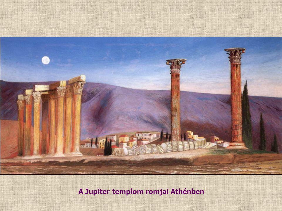 A Jupiter templom romjai Athénben