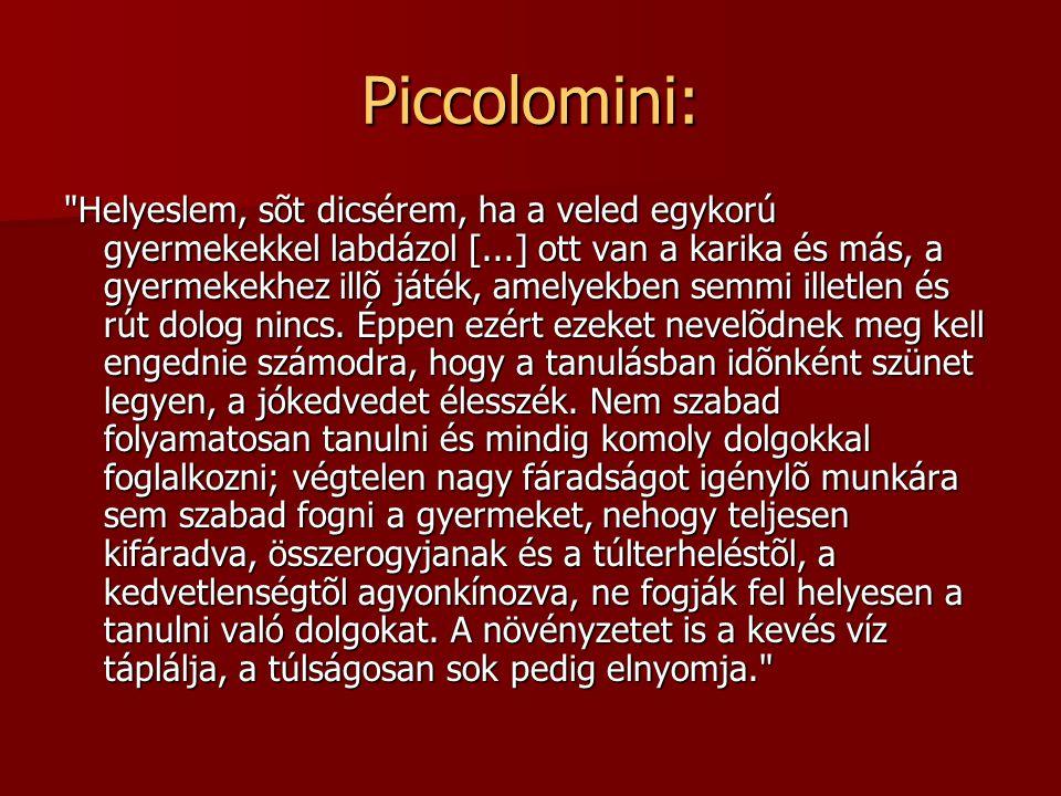 Piccolomini: