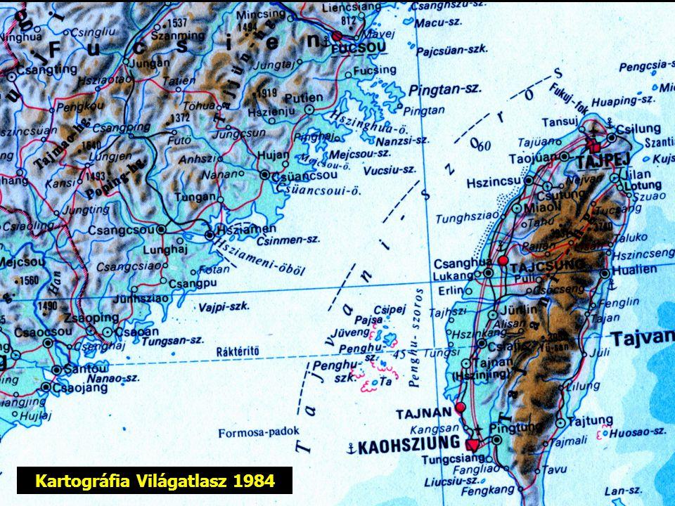 Kartográfia Világatlasz 1984