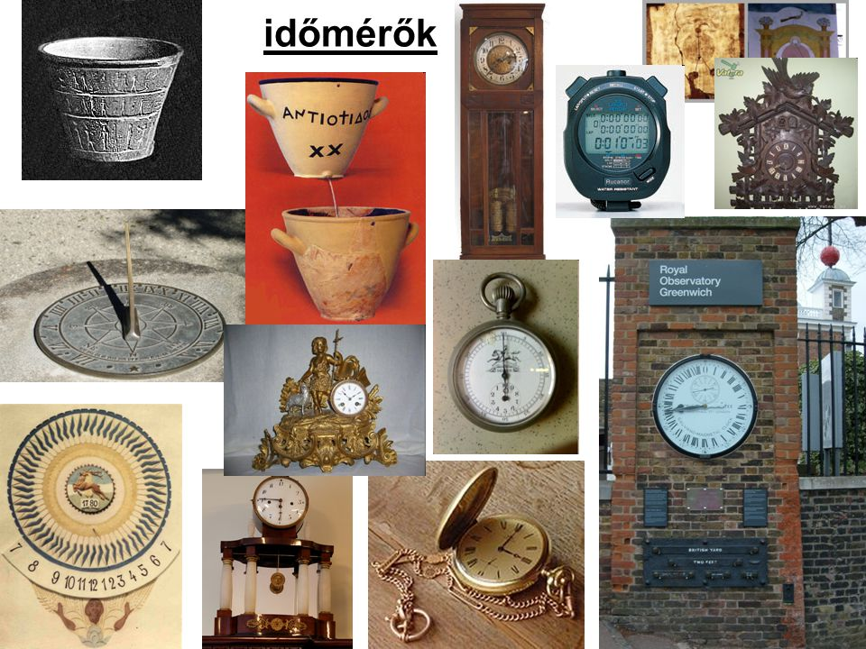időmérők