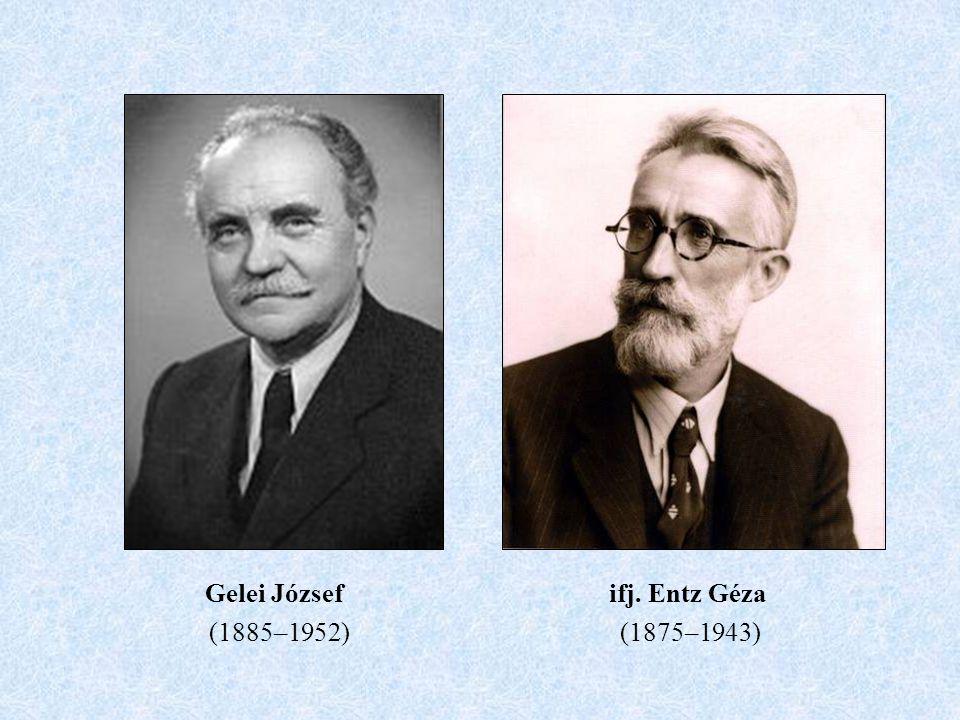 Gelei József ifj. Entz Géza (1885–1952) (1875–1943)