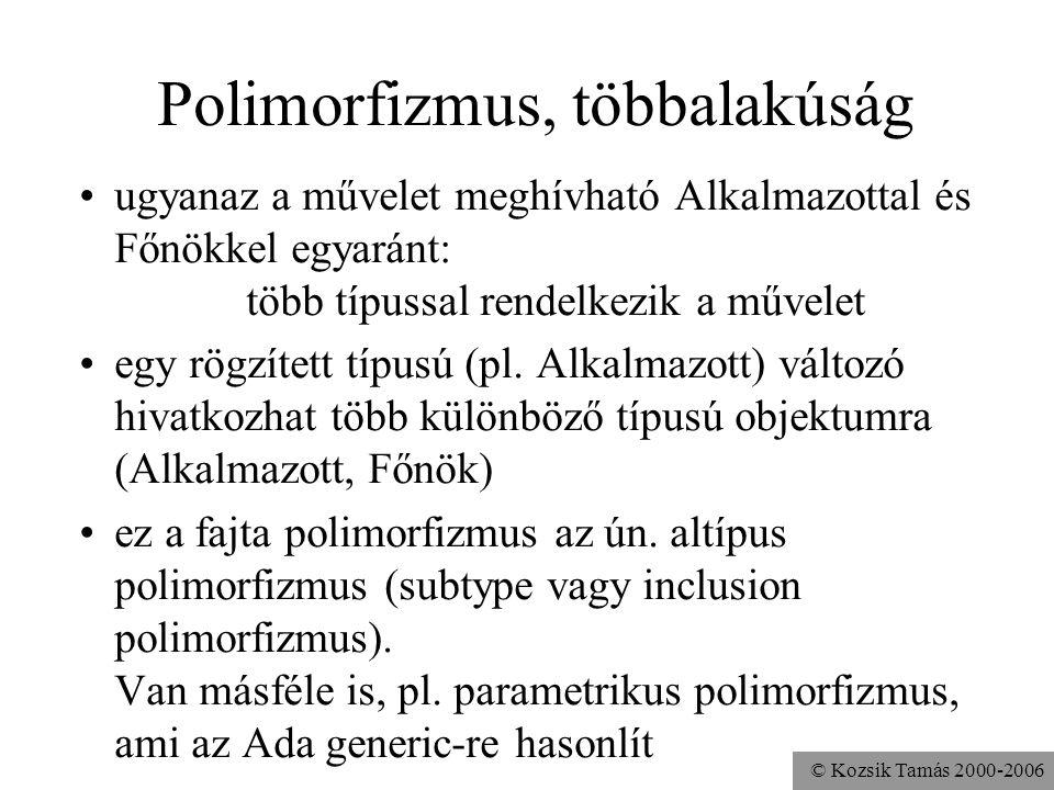 Polimorfizmus, többalakúság
