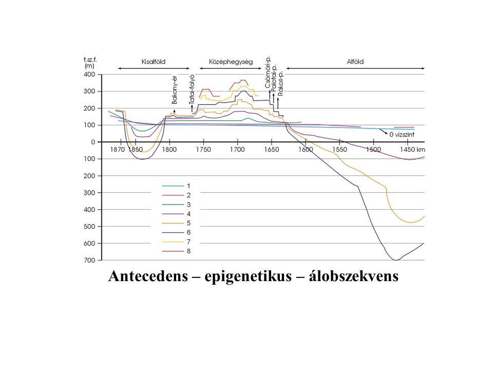 Antecedens – epigenetikus – álobszekvens