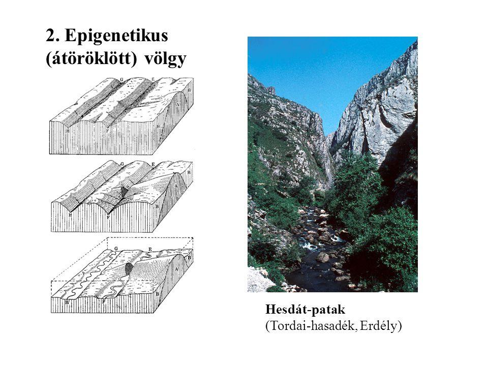 2. Epigenetikus (átöröklött) völgy