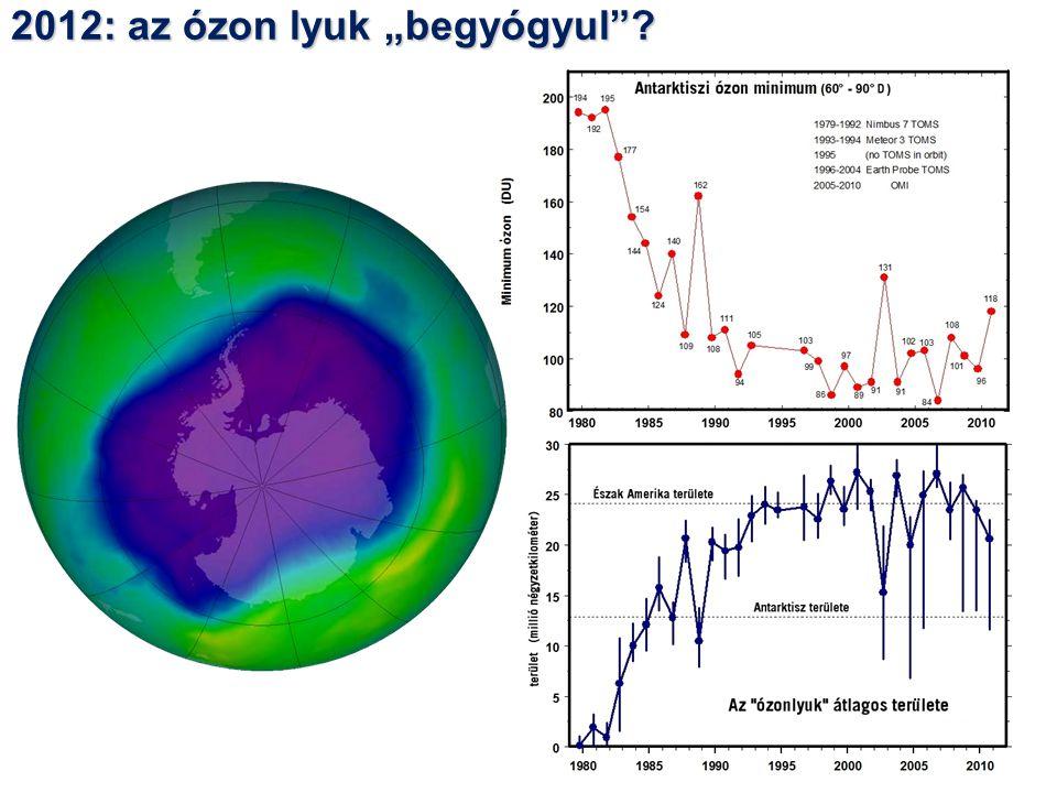 """2012: az ózon lyuk """"begyógyul"""