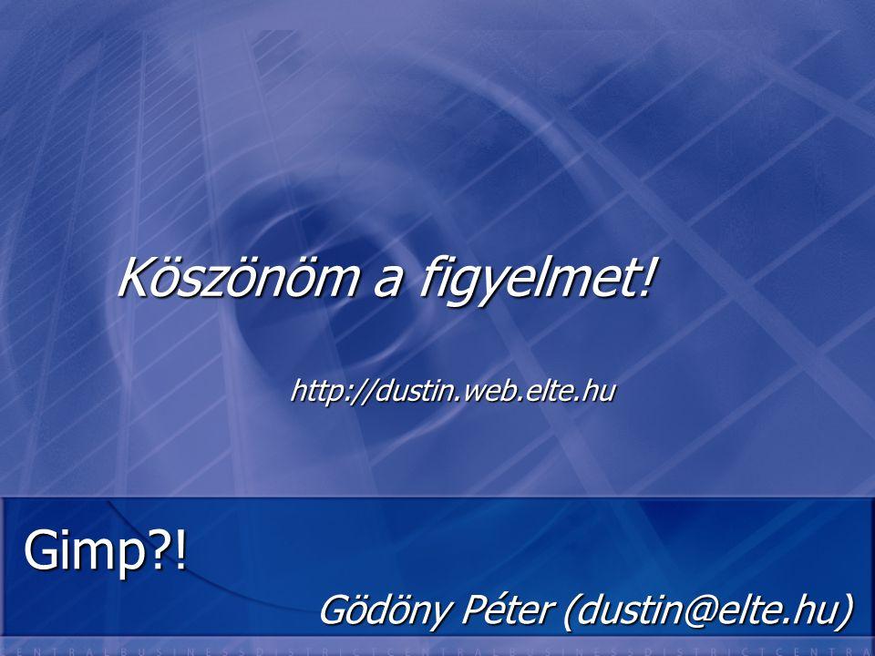 Gödöny Péter (dustin@elte.hu)