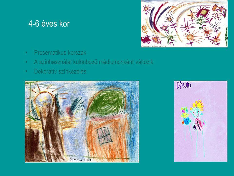 4-6 éves kor Presematikus korszak