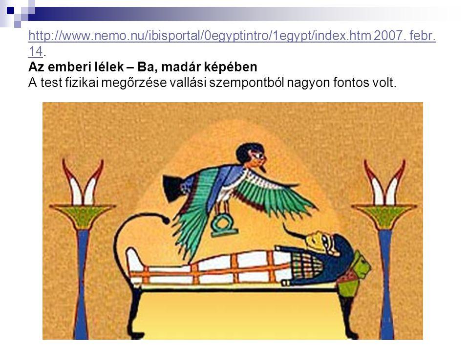 http://www. nemo. nu/ibisportal/0egyptintro/1egypt/index. htm 2007