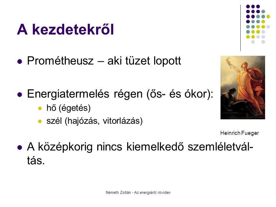 Németh Zoltán - Az energiáról röviden