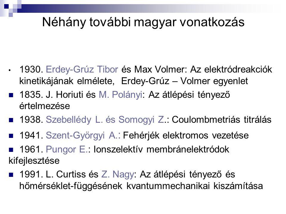 Néhány további magyar vonatkozás