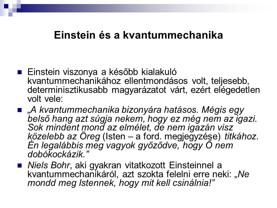 Einstein és a kvantummechanika