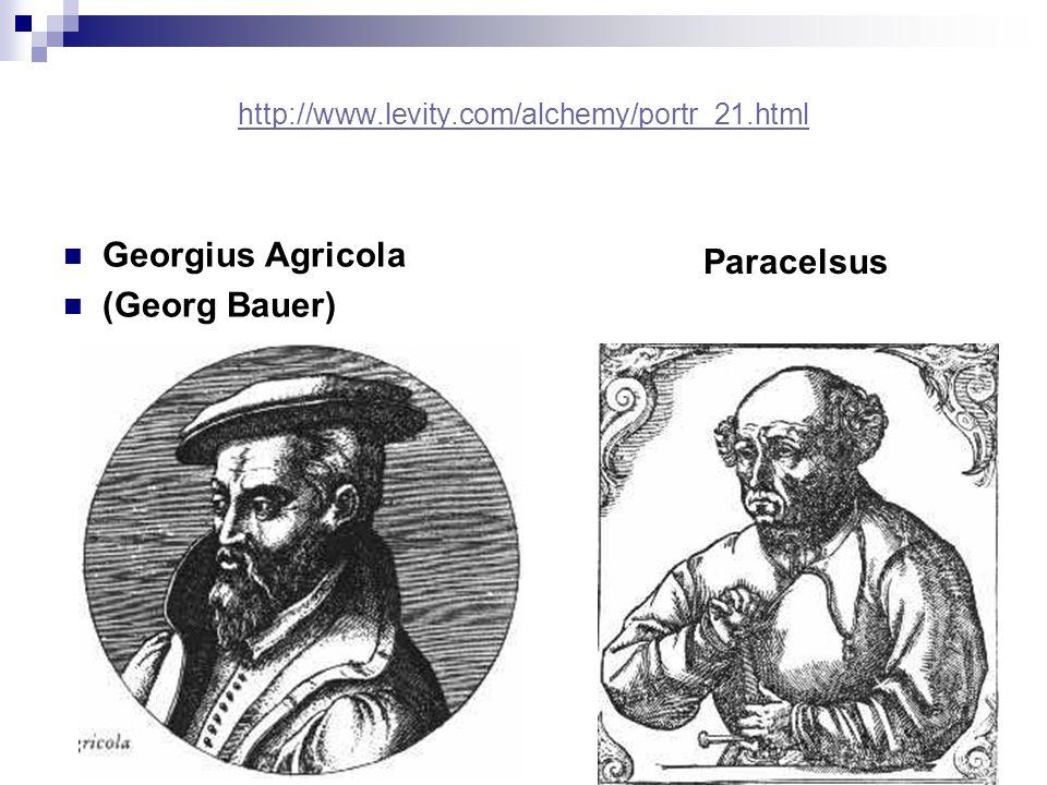 Georgius Agricola Paracelsus (Georg Bauer)