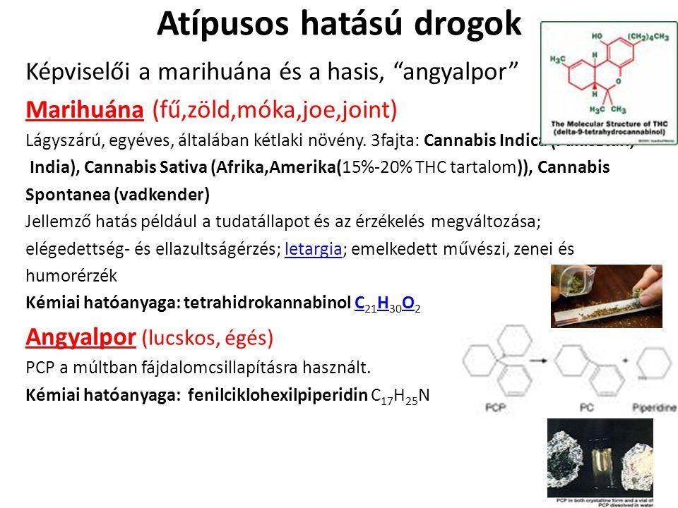 Atípusos hatású drogok