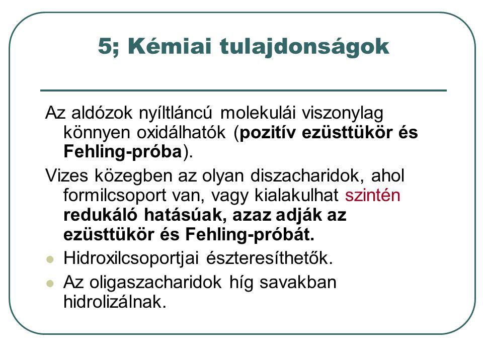 5; Kémiai tulajdonságok