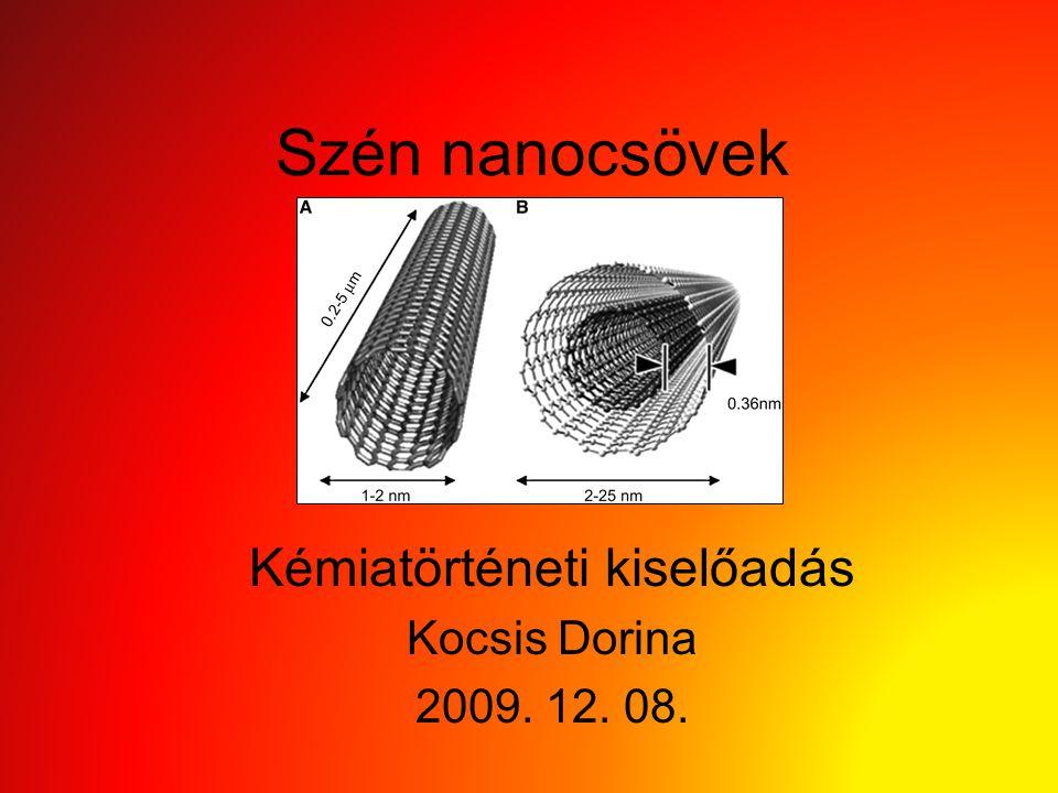 Kémiatörténeti kiselőadás Kocsis Dorina 2009. 12. 08.