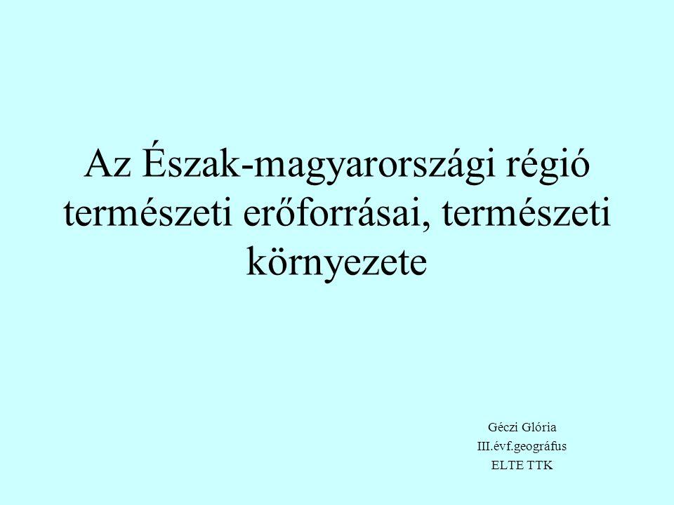 Géczi Glória III.évf.geográfus ELTE TTK