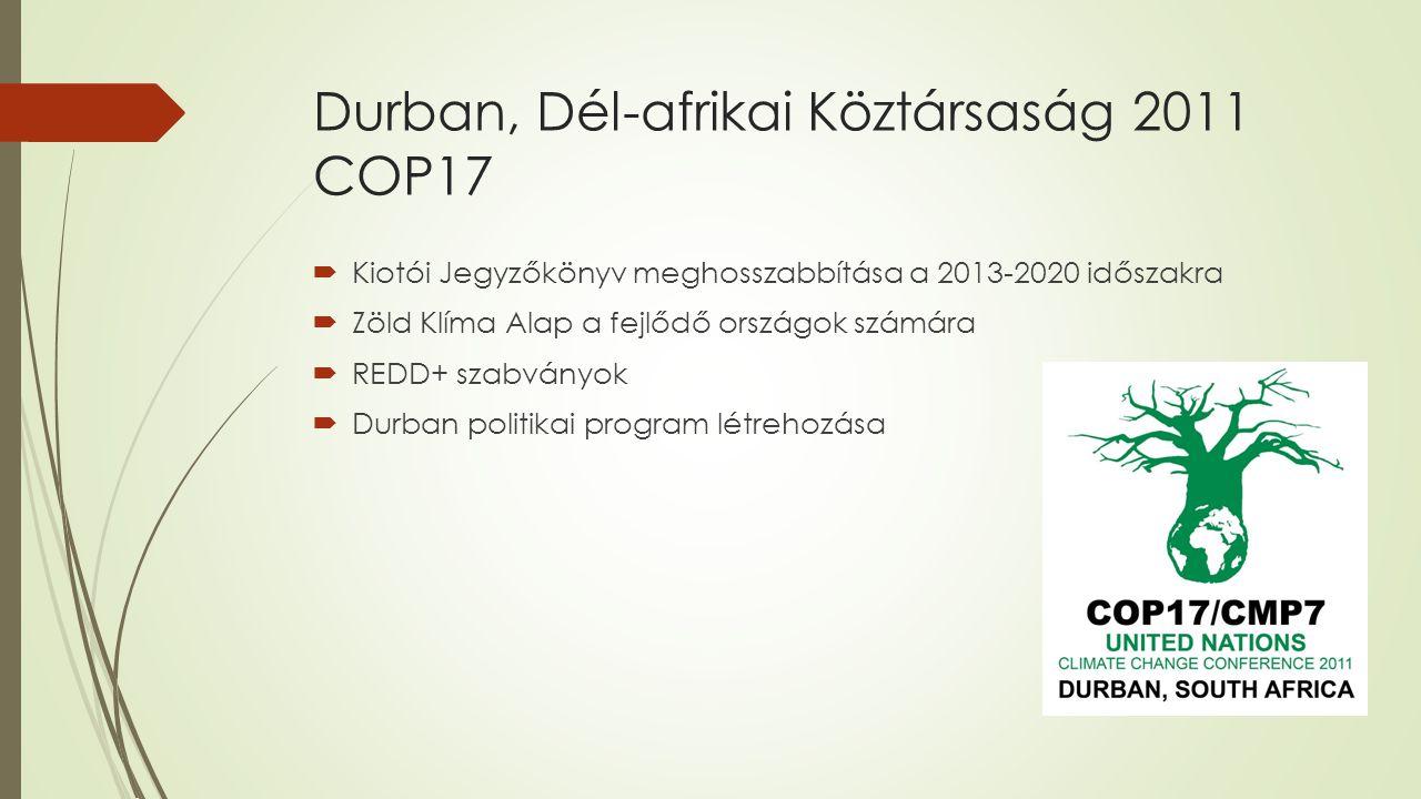 Durban, Dél-afrikai Köztársaság 2011 COP17
