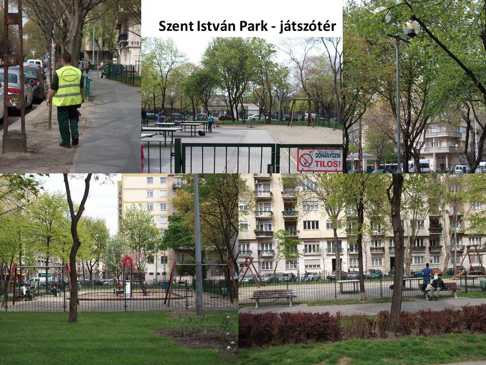 Szent István Park - játszótér