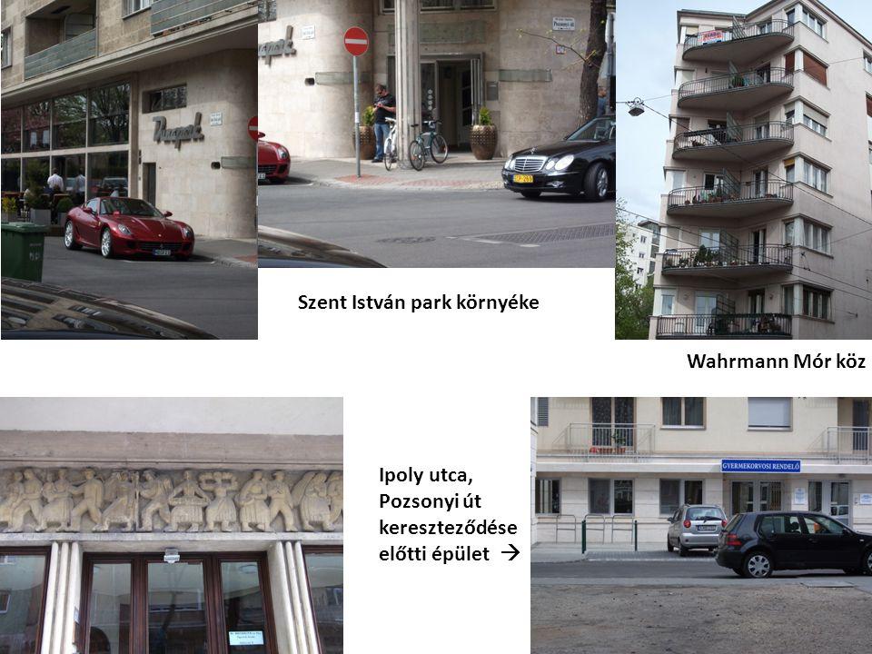 Szent István park környéke