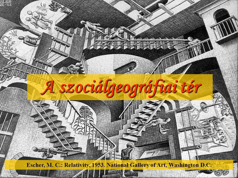 A szociálgeográfiai tér