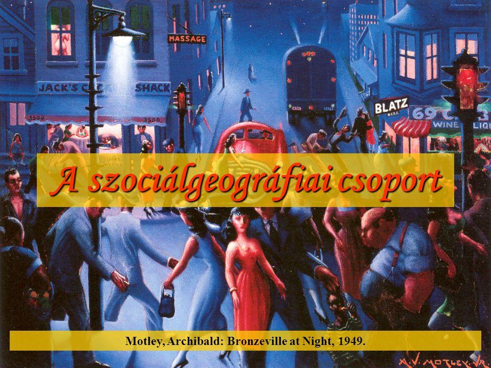A szociálgeográfiai csoport