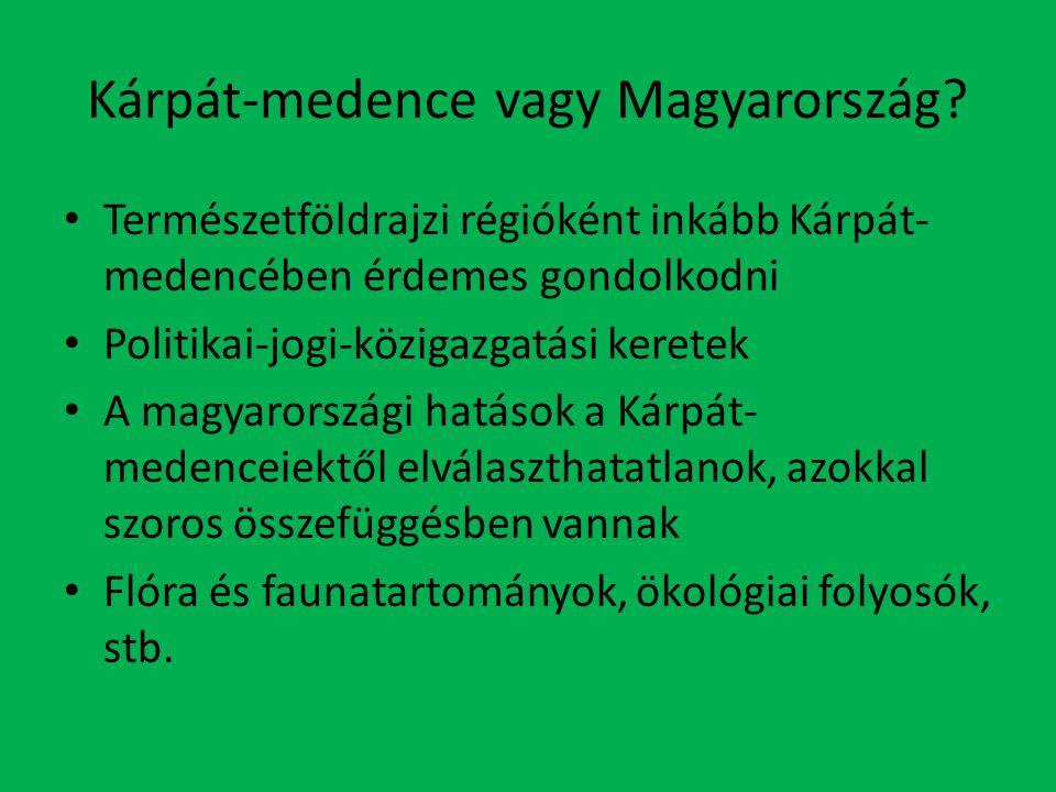 Kárpát-medence vagy Magyarország
