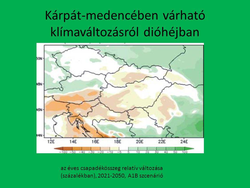 Kárpát-medencében várható klímaváltozásról dióhéjban