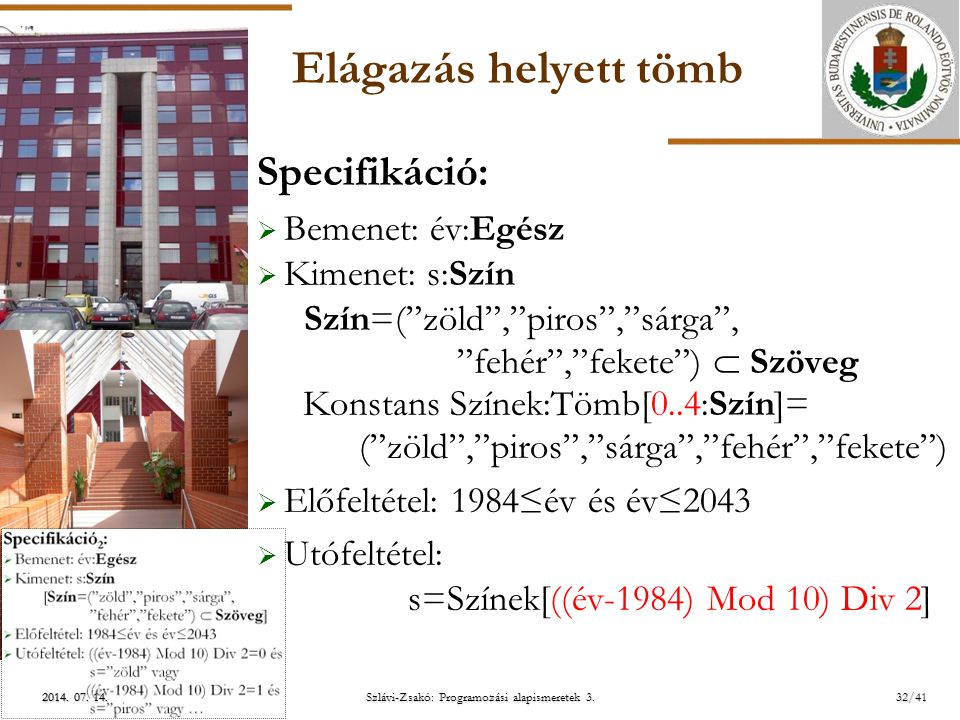 Szlávi-Zsakó: Programozási alapismeretek 3.