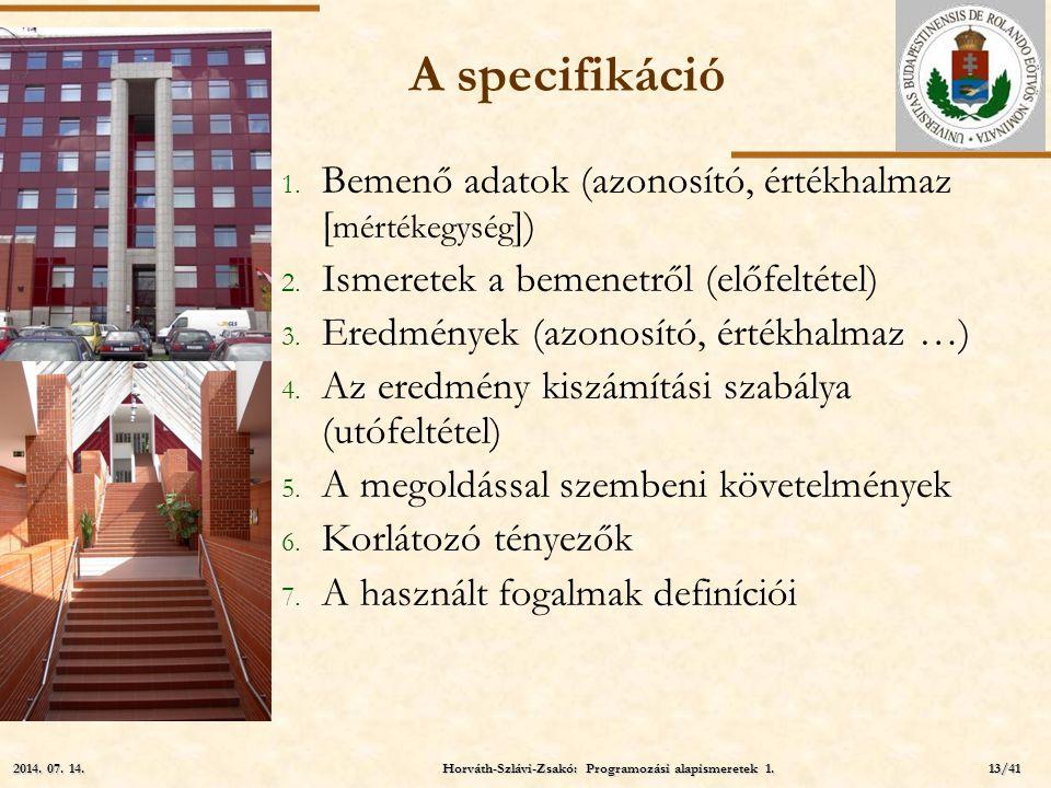 Horváth-Szlávi-Zsakó: Programozási alapismeretek 1.