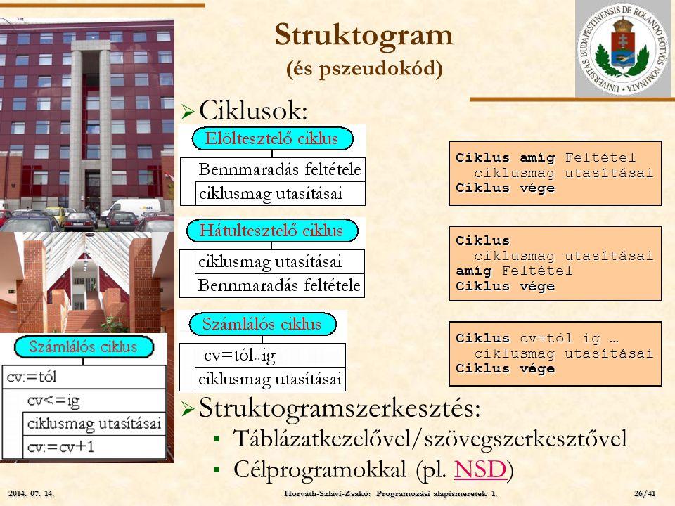 Struktogram (és pszeudokód)