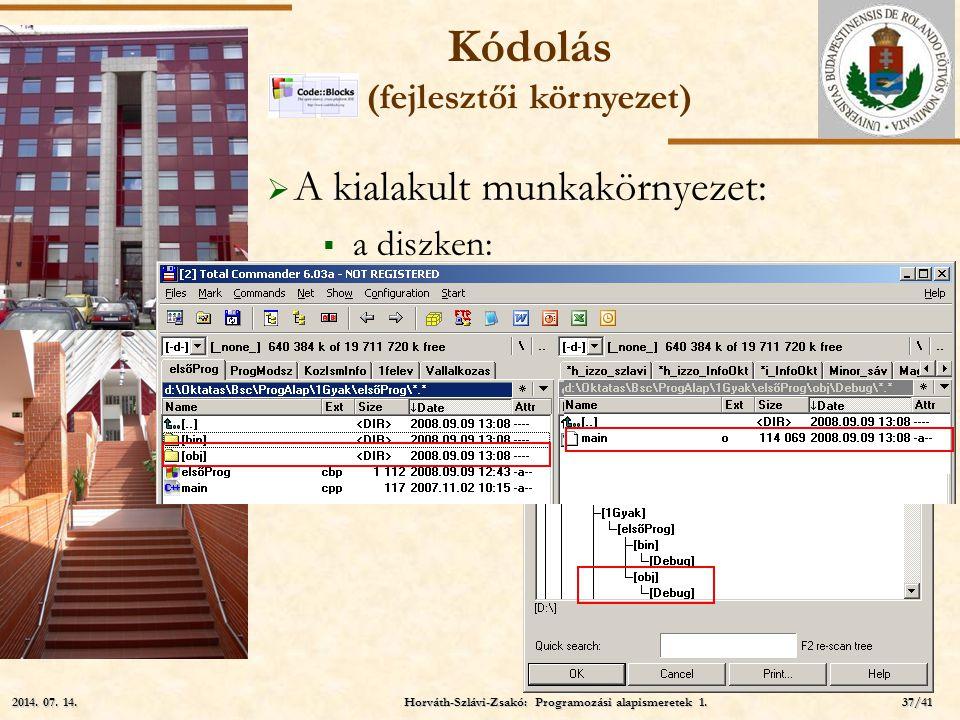 Kódolás (fejlesztői környezet)