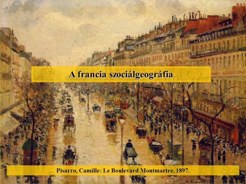 A francia szociálgeográfia