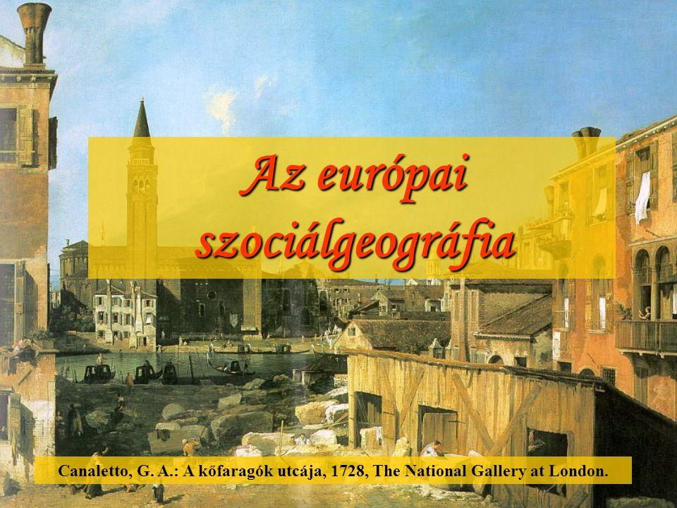 Az európai szociálgeográfia