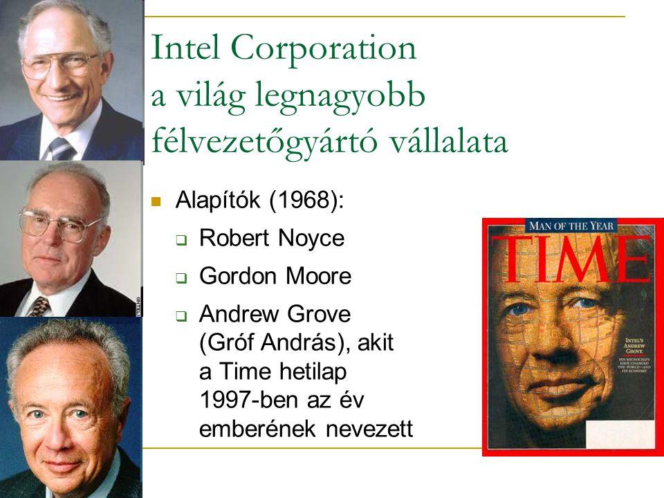 Intel Corporation a világ legnagyobb félvezetőgyártó vállalata