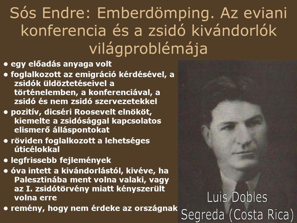 Sós Endre: Emberdömping